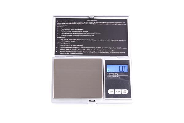 Digitale Taschenwaage, bis 500g mit 0,1g