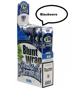 Blunt Wrap Blue