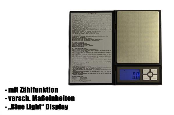 Digitale Taschenwaage, bis 200g mit 0,01g