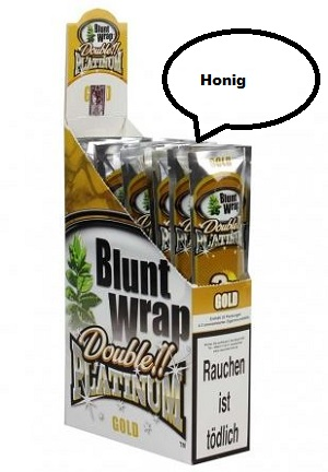 Blunt Wrap Gold